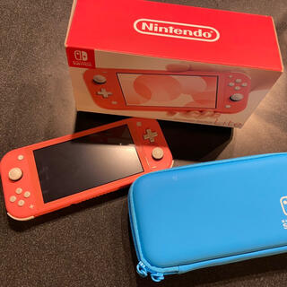 Nintendo Switch - Switch Lite 任天堂 スイッチ ライト 本体 コーラル