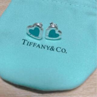 Tiffany & Co. - ティファニー ラブハート ピアス