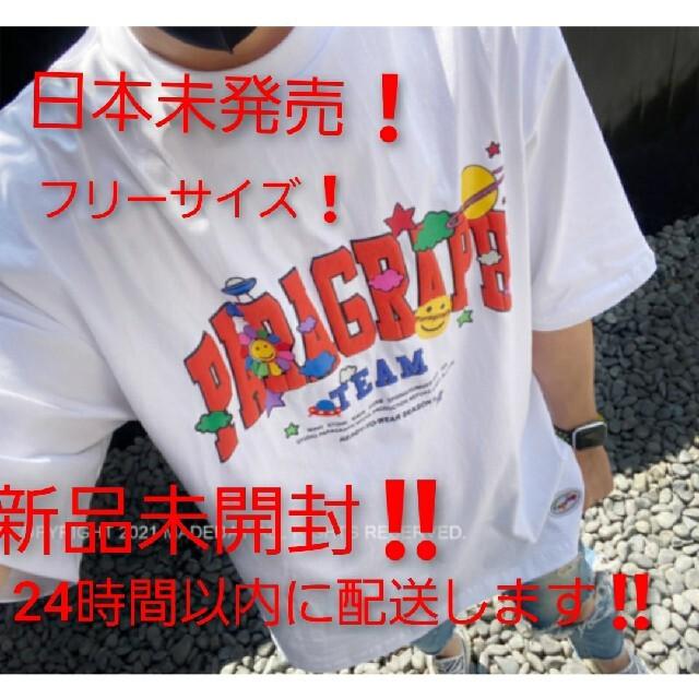 paragraph‼️パラグラフ‼️ 半袖Tシャツ‼️ホワイト メンズのトップス(Tシャツ/カットソー(半袖/袖なし))の商品写真