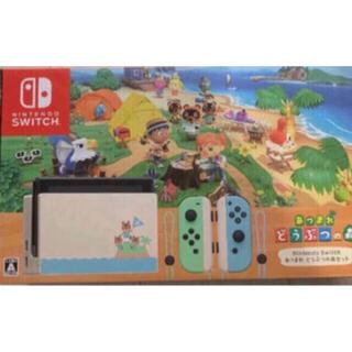 Nintendo Switch - Nintendo Switch本体 あつまれどうぶつの森同梱版 新品未使用