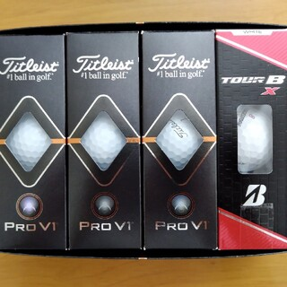 Titleist - 新品ゴルフボール Pro V1とTOUR BX