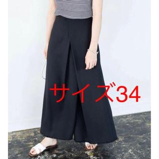 IENA - 【新品タグ付き】イエナ IENA デザインスリットスカート ブラック 34