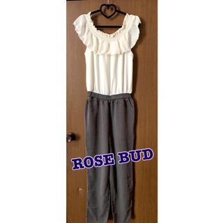 ローズバッド(ROSE BUD)の*ROSE BUD オールインワン*(オールインワン)