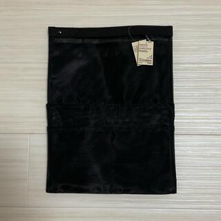 ムジルシリョウヒン(MUJI (無印良品))の無印良品 ナイロンメッシュ バッグインバッグ 黒 タテ型 縦 A4サイズ用(その他)