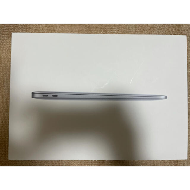 Apple(アップル)の13インチ M1 MacBook Air - スペースグレイ US配列 スマホ/家電/カメラのPC/タブレット(ノートPC)の商品写真