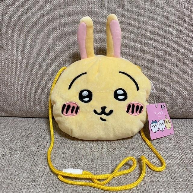ちいかわ フェイスポシェット うさぎ エンタメ/ホビーのおもちゃ/ぬいぐるみ(キャラクターグッズ)の商品写真