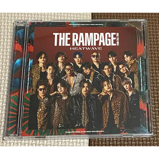 THE RAMPAGE - HEATWAVE◆THE RAMPAGE CD&DVD