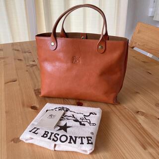 イルビゾンテ(IL BISONTE)の美品 正規品 イルビゾンテ ハンドバッグ トートバッグ(ハンドバッグ)