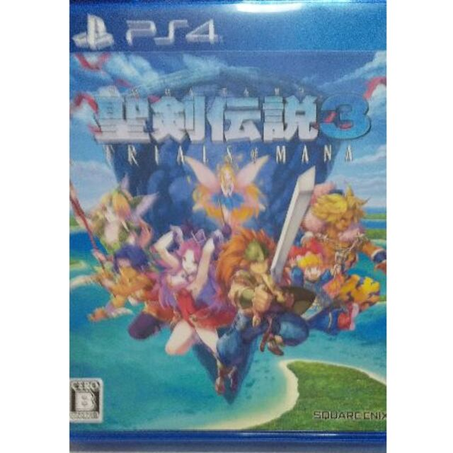 PlayStation4(プレイステーション4)の【PS4】聖剣伝説3 トライアルズ オブ マナ エンタメ/ホビーのゲームソフト/ゲーム機本体(家庭用ゲームソフト)の商品写真
