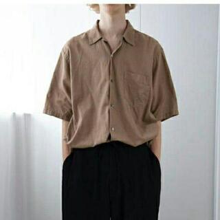 COMOLI - COMOLI 20SS ベタシャンオープンカラーシャツ カーキ サイズ1