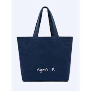 agnes b. - 新品 アニエスベー トートバッグ   紺 キャンバス