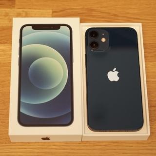 iPhone - iPhone12mini本体 ブルー 128GB SIMフリー 国内正規品