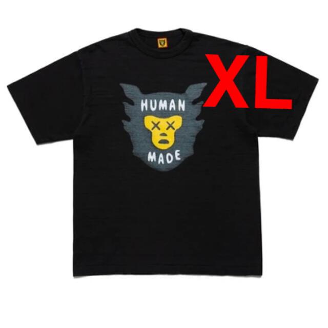 Supreme(シュプリーム)のHUMAN MADE × KAWS / ヒューマンメイド カウズ 21SS  メンズのトップス(Tシャツ/カットソー(半袖/袖なし))の商品写真