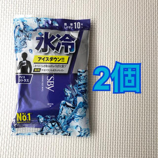 マンダム(Mandom)のギャツビー/GATSBY ボディペーパー アイスシトラス 2個(制汗/デオドラント剤)