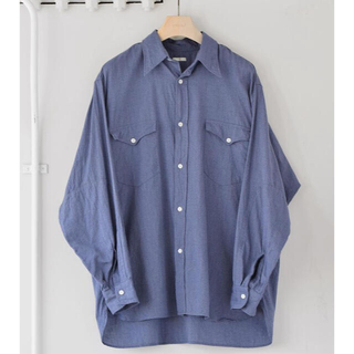 COMOLI - COMOLI 21AWヨリ杢ワークシャツ