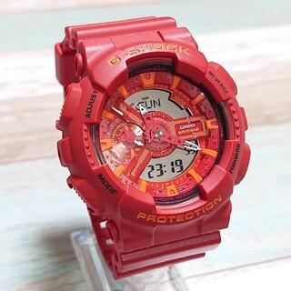 G-SHOCK - 超美品【CASIO/G-SHOCK】デジアナ メンズ腕時計 GA-110AC-4