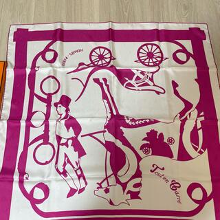 Hermes - 新品 エルメス カレ90 スカーフ 全てはカレの中に タトゥアージュ