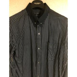 メンズティノラス(MEN'S TENORAS)のメンズティノラス ピンホールカラー ブラックストライプカフスシャツ(シャツ)
