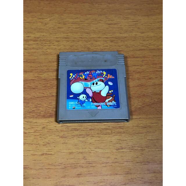 ゲームボーイ(ゲームボーイ)のGAME BOY COLOR スノーブラザース Jr. エンタメ/ホビーのゲームソフト/ゲーム機本体(家庭用ゲームソフト)の商品写真