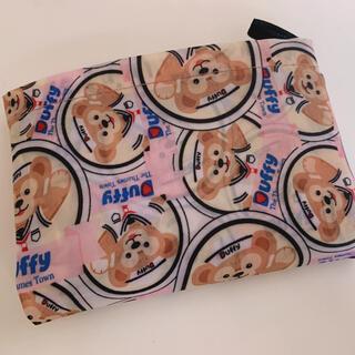 ディズニー ダッフィー★ピンク エコバッグ 折り畳み ショッピングバッグ(エコバッグ)