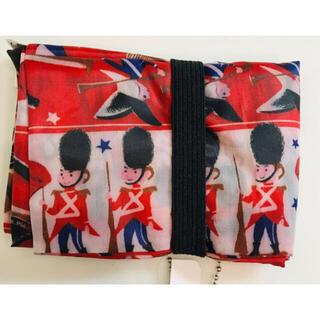 新品 英国 イギリス スリム 折り畳み エコバッグ トートバッグ マイバッグ 鞄