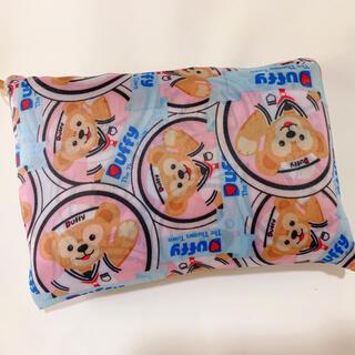 ディズニー ダッフィー★ブルー エコバッグ 折り畳み ショッピングバッグ(エコバッグ)