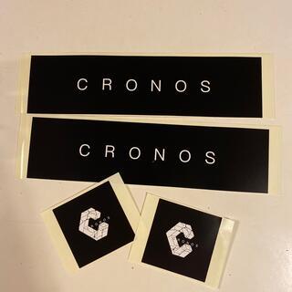 クロノス CRONOS ステッカー 非売品 4枚