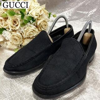 グッチ(Gucci)の☆GGキャンバス☆グッチ スリッポン ローファー レディース(ローファー/革靴)