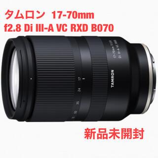 TAMRON - タムロン  17-70mm f2.8 Di Ⅲ-A VC RXD B070