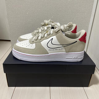 NIKE - AIR FORCE 1 LOW FIRST USE LIGHT STONE