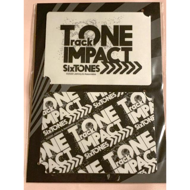 Johnny's(ジャニーズ)のSixTONES ステッカー エンタメ/ホビーのタレントグッズ(アイドルグッズ)の商品写真