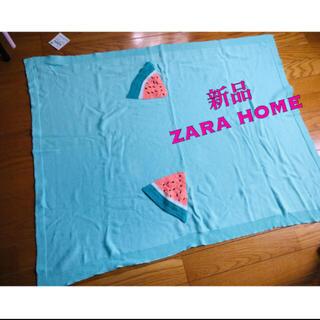 ザラホーム(ZARA HOME)のZARAHOME  スイカブランケット(タオルケット)