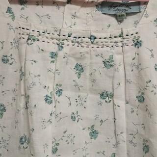 ハグオーワー(Hug O War)のハグオーワー 綿麻 ステッチ ナチュラル ブラウス カットソー 130(Tシャツ/カットソー)