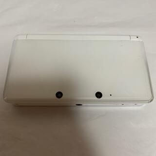 【動作確認済み】ニンテンドー3DS アイスホワイト