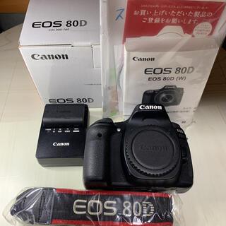 Canon - 一眼レフカメラ canon eos 80D ボディ