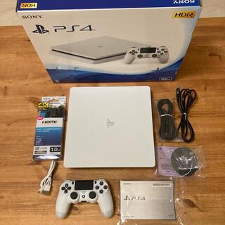 プレイステーション4(PlayStation4)の限定お値引き中!】PS4 500GB ホワイト(家庭用ゲーム機本体)