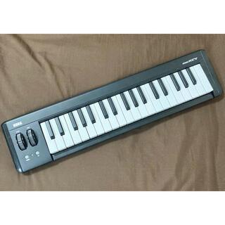 コルグ(KORG)の動作確認済 KORG MIDIキーボード microKEY-37 シンセ コルグ(MIDIコントローラー)
