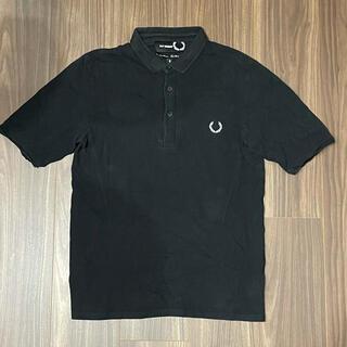 ラフシモンズ(RAF SIMONS)のラフシモンズ×フレッドペリー ポロシャツ 黒S(ポロシャツ)