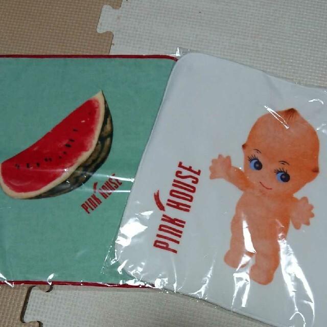 PINK HOUSE(ピンクハウス)のタオル二枚セット 新品未使用 レディースのファッション小物(ハンカチ)の商品写真