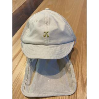 プティマイン(petit main)のプティマイン 帽子 日除け付 46cm(帽子)