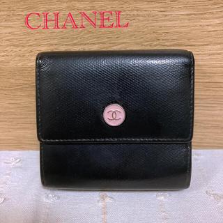 CHANEL - CHANEL ダブルホック 折り財布