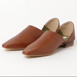 アメリヴィンテージ(Ameri VINTAGE)のアメリビンテージ バブーシュ(ローファー/革靴)