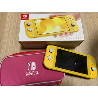 Nintendo Switch - Switch Lite 任天堂 スイッチ ライト 本体 イエロー