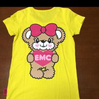 EARTHMAGIC - アースマジック  マフィちゃんTシャツ 140 黄色
