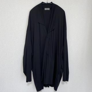 Yohji Yamamoto - Yohji Yamamoto 19AW アシンメトリーシャツ