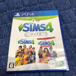 PlayStation4 - The Sims 4 Cats & Dogsバンドル PS4