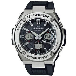 CASIO - カシオ G-SHOCK 電波ソーラー 腕時計 ブラック
