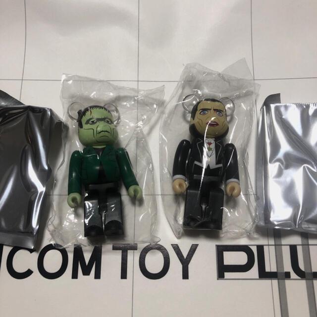 MEDICOM TOY(メディコムトイ)のベアブリック BE@RBRICK 42 ホラー フランケンシュタイン 裏表 エンタメ/ホビーのおもちゃ/ぬいぐるみ(キャラクターグッズ)の商品写真