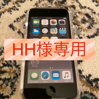 アイポッドタッチ(iPod touch)のiPod touch6(第6世代) 32GB A1574 スペースグレー(ポータブルプレーヤー)