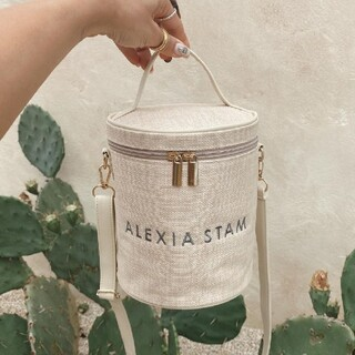 ALEXIA STAM - アリシアスタン ノベルティ バニティバッグ